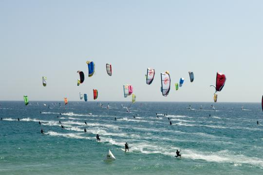 Campionat de Catalunya de Kitesurf Racing 2012 a Sant Pere Pescador